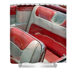 Cadillac El Dorado 1958 Seats. Miami Shower Curtain