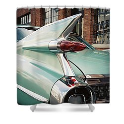 Cadillac Fins Shower Curtain