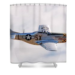 Shower Curtain featuring the photograph Cadillac Of The Sky  by Jeff Cook