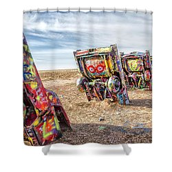 Cadillac Ranch 1 Shower Curtain