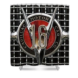 Cadillac V16 Shower Curtain