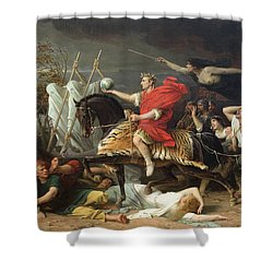 Caesar Shower Curtain by Adolphe Yvon