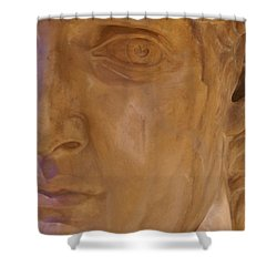 Caesar Shower Curtain by Cynthia Powell