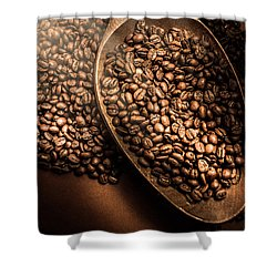 Cafe Aroma Art Shower Curtain