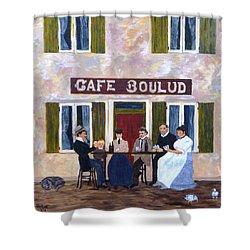 Cafe Boulud Shower Curtain