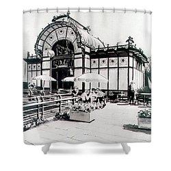Cafe De Carl Shower Curtain