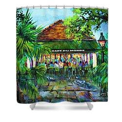 Cafe Du Monde Morning Shower Curtain