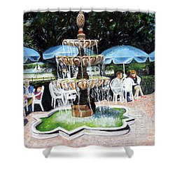 Cafe Gallery Shower Curtain