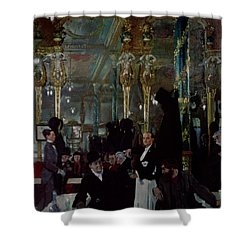 Cafe Royal, London, 1912 Shower Curtain by Sir William Orpen