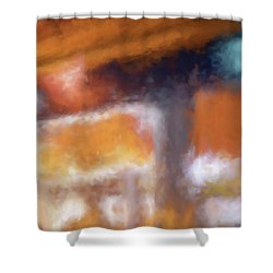 Cafe Window Shower Curtain