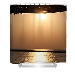 Caffe Time Shower Curtain by Jez C Self