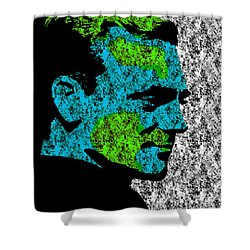 Cagney 3 Shower Curtain by Emme Pons