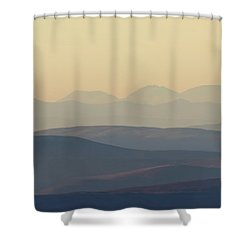 Cairngorms Sunset Shower Curtain