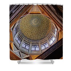 Cairo Nilometer Shower Curtain by Nigel Fletcher-Jones