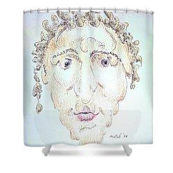 Caius Lividicus Shower Curtain
