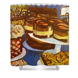 Cake Case Shower Curtain