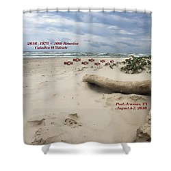 Calallen 40th Reunion - D Shower Curtain
