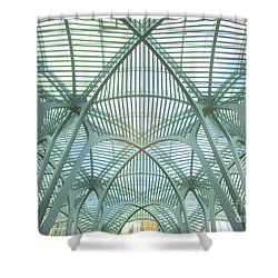 Calatrava In Toronto 10 Shower Curtain by Randall Weidner