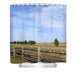 Calf Pasturepoint Shower Curtain