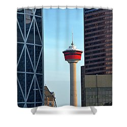 Calgary 1 Shower Curtain