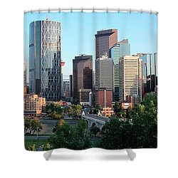 Calgary 2 Shower Curtain