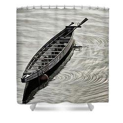 Calgary Dragon Boat Shower Curtain