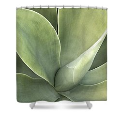 Cali Agave Shower Curtain by Rich Franco