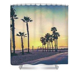 Cali Sunset Shower Curtain