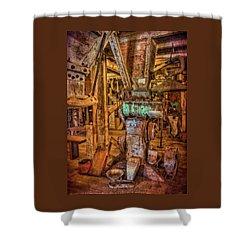 California Pellet Mill Co Shower Curtain by Thom Zehrfeld