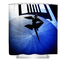 Shower Curtain featuring the photograph California Blue by Wayne Sherriff