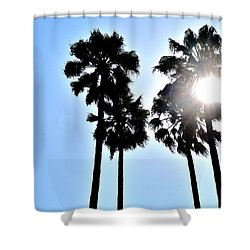 California Shower Curtain by Christopher Woods