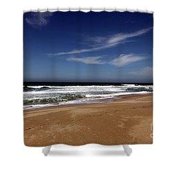 California Coast Shower Curtain by Amanda Barcon