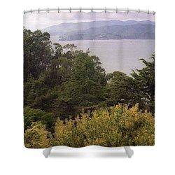 California Coast Fan Francisco Shower Curtain