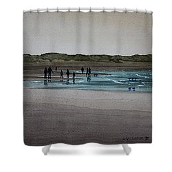 California Coast - Limantour Shower Curtain
