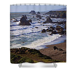 California Coast Sonoma Shower Curtain by Garry Gay