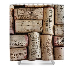 California Corks Shower Curtain