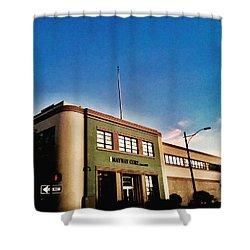 California Corner Shower Curtain