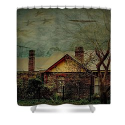 Shower Curtain featuring the photograph California Dreaming by Wallaroo Images