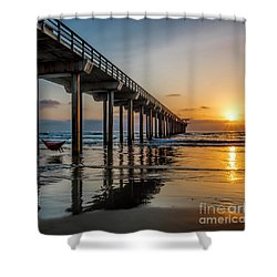 California Dream'n Shower Curtain