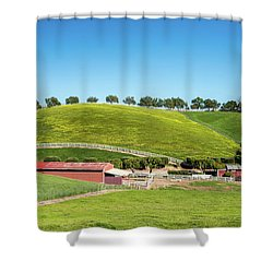 California Ranch Shower Curtain