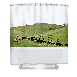 California Ranching Shower Curtain