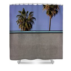 California Rooftop Shower Curtain