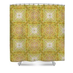 California Spring Oscillation 18 Shower Curtain