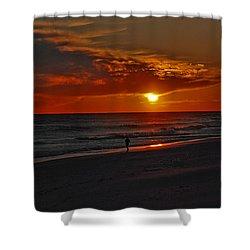 California Sun Shower Curtain by Susanne Van Hulst
