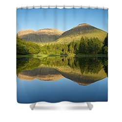 Californian Summer In Glencoe Shower Curtain by Stephen Taylor