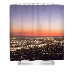 Californian Sunset Shower Curtain