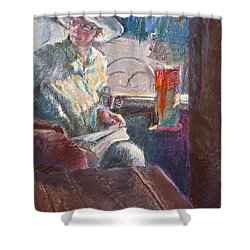 Calistoga Morning Shower Curtain
