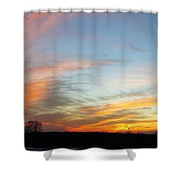Calling All Angels Shower Curtain