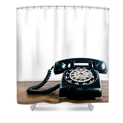 Call Me Let's Do Work. Shower Curtain