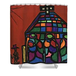 Call To Worship Shower Curtain